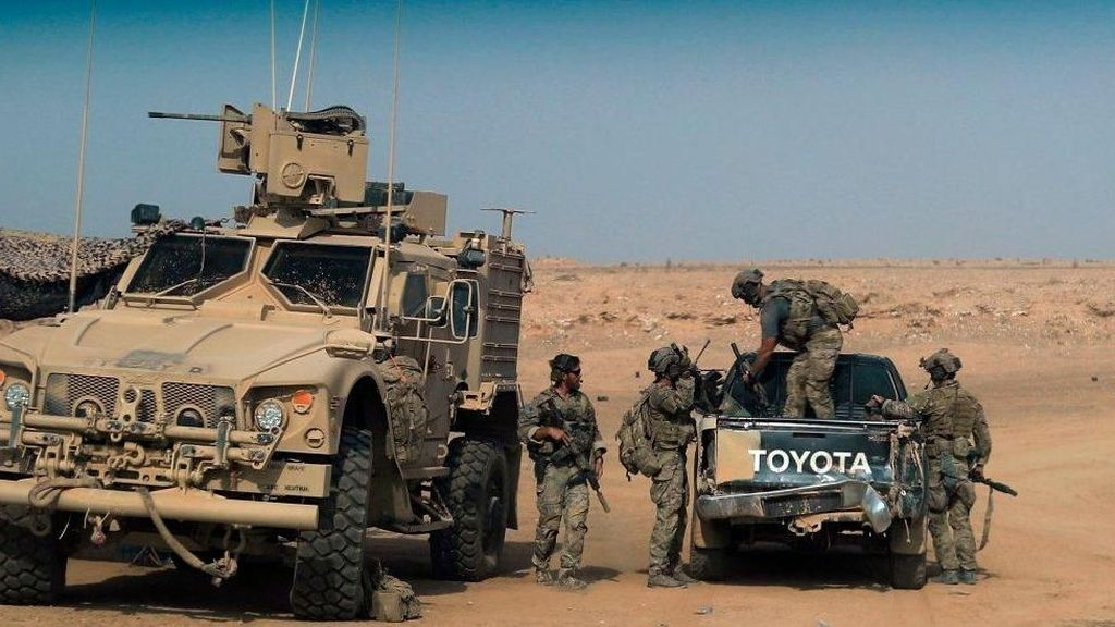 Koalisi AS Hancurkan Masjid Suriah yang Jadi Pusat Komando ISIS