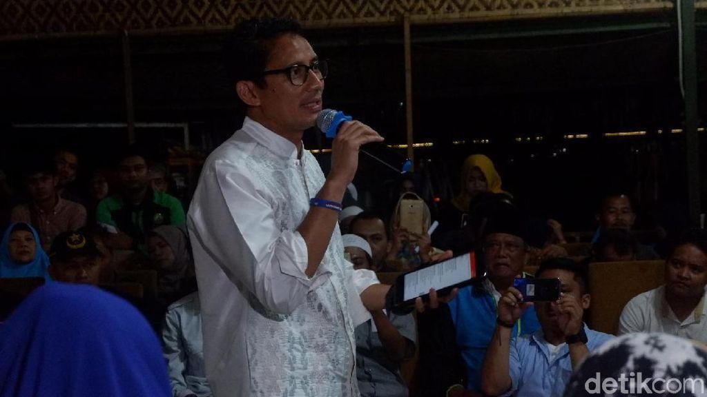 Janji Setop Impor Beras, Sandiaga: Jangan Sampai Vietnam yang Makmur