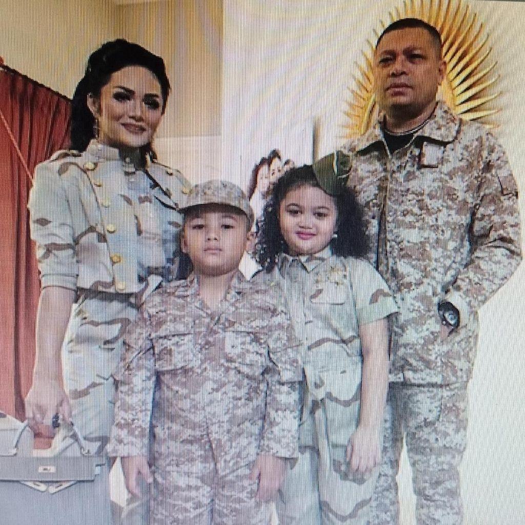 Putri Jokowi Hadiri Pesta Ultah Anak Krisdayanti