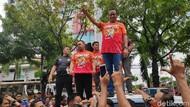 Pawai Persija Juara Selesai, Anies Imbau Massa Pulang dengan Tertib