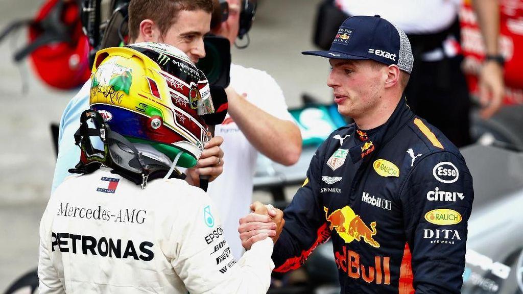 Verstappen Pede Bisa Bersaing dengan Hamilton-Vettel