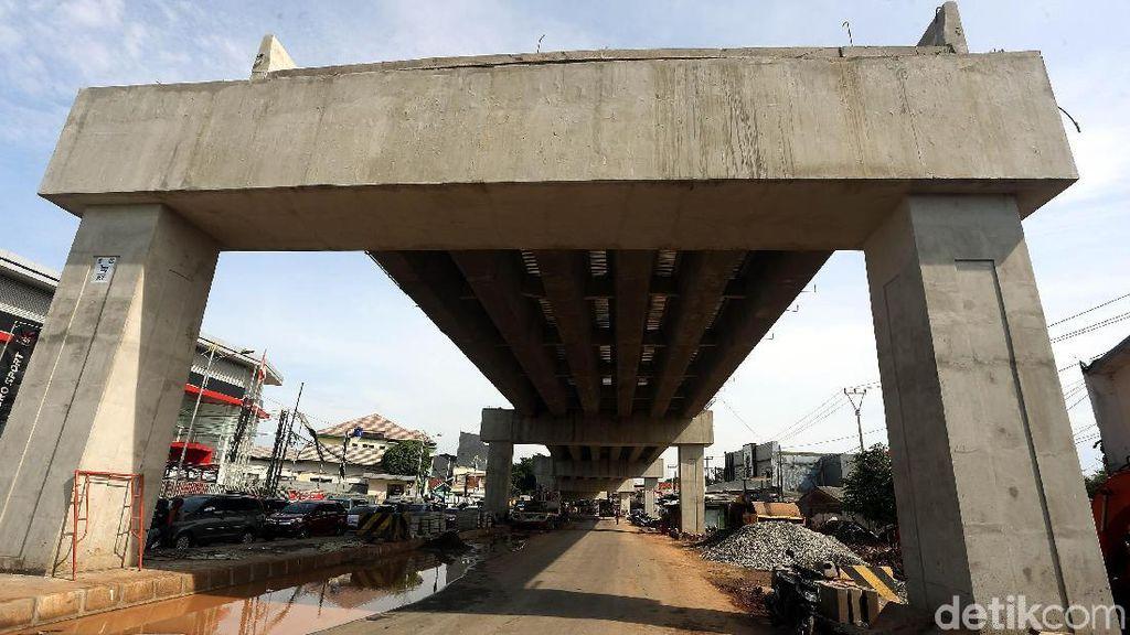 Pembangunan Flyover Cipendawa Bekasi Terus Dikebut
