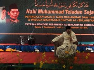 Kiai  Buchori Amin Meninggal Saat Sedang Berceramah di Malang