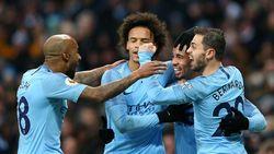 Hasil Liga Inggris : Manchester City Taklukkan Everton 3-1