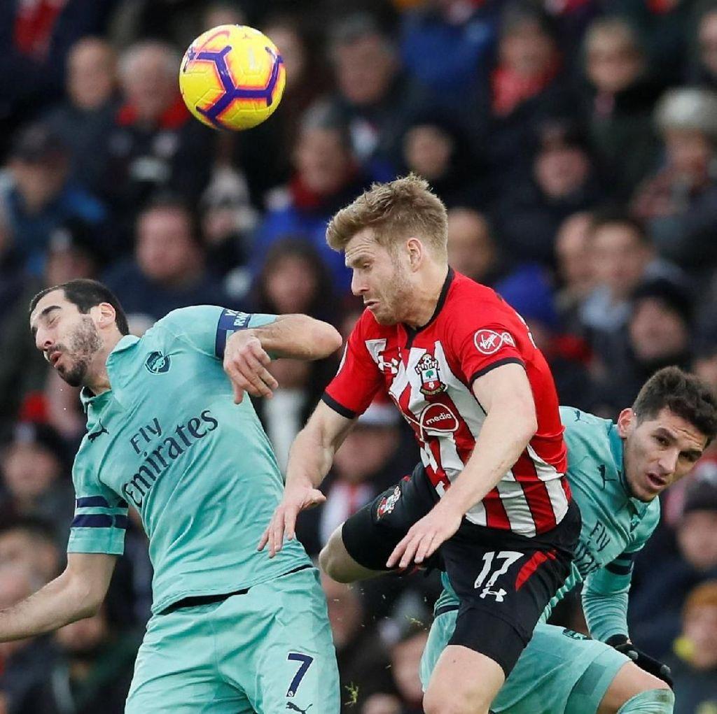 Babak I: Arsenal Tertinggal 1-2 dari Southampton