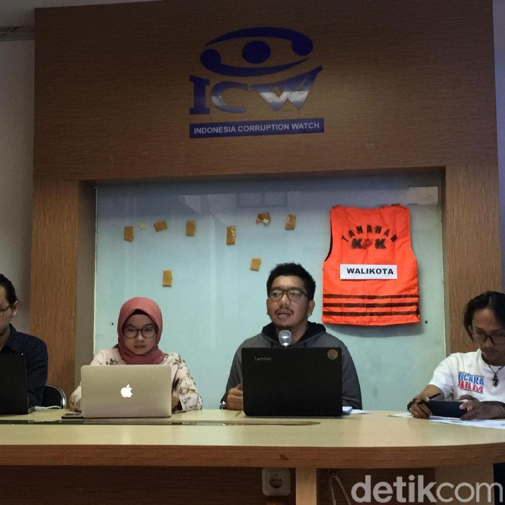 ICW Kecewa kepada KPK dan MA soal Tuntutan dan Vonis Koruptor