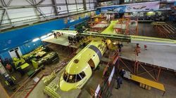 Megahnya Pabrik Perakitan Pesawat Antonov An-12BP
