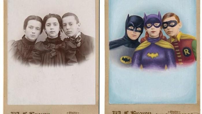 Ketika Orang Zaman Dulu Disulap Jadi Superhero