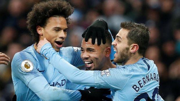 Manchester City punya kedalaman skuat yang sangat bagus.