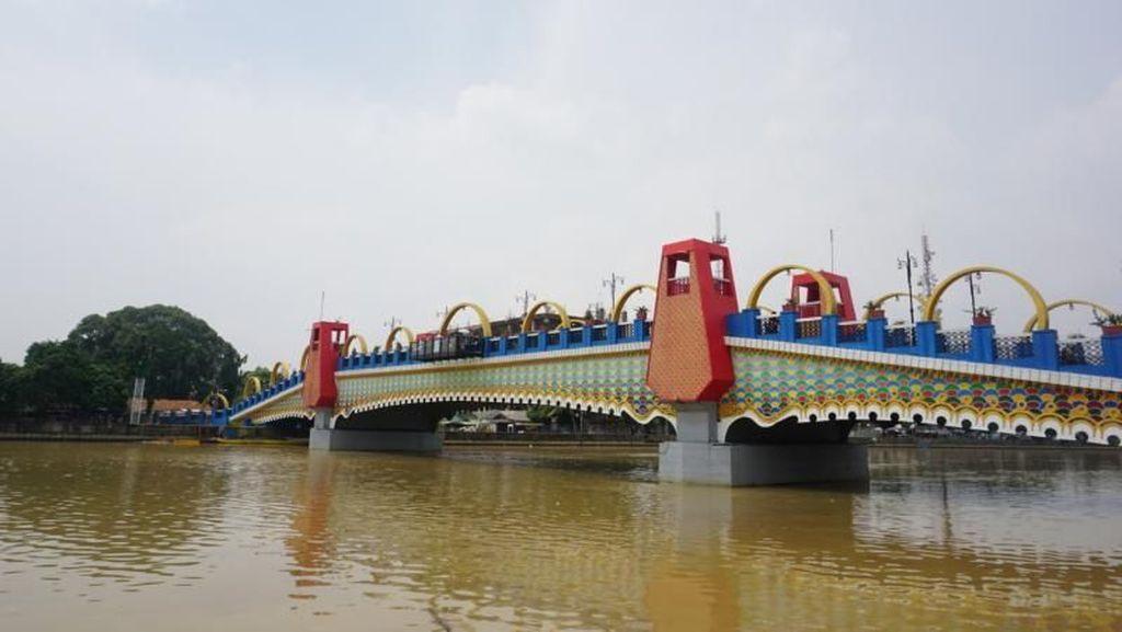 Jembatan Baru di Tangerang yang Asyik Buat Foto-foto