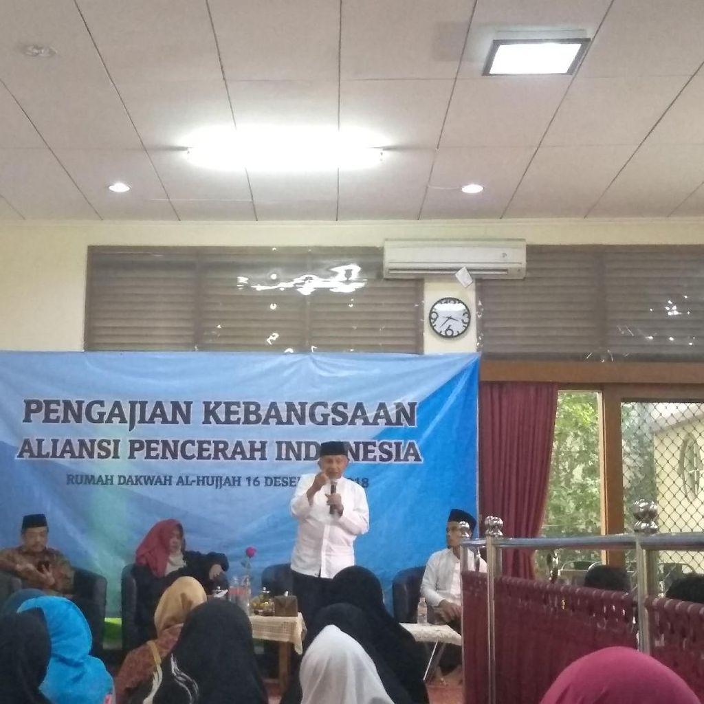 Amien Rais Bicara Jewer PP Muhammadiyah dan Rezim Pekok di Pengajian