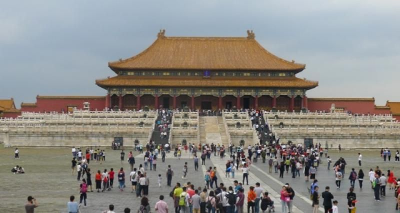 Forbidden City di China