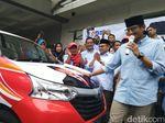 Mulai Pemanasan, Sandiaga Luncurkan Mobil Tempur untuk Jateng
