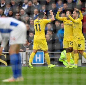 Babak I Selesai, Chelsea Ungguli Brighton 2-0