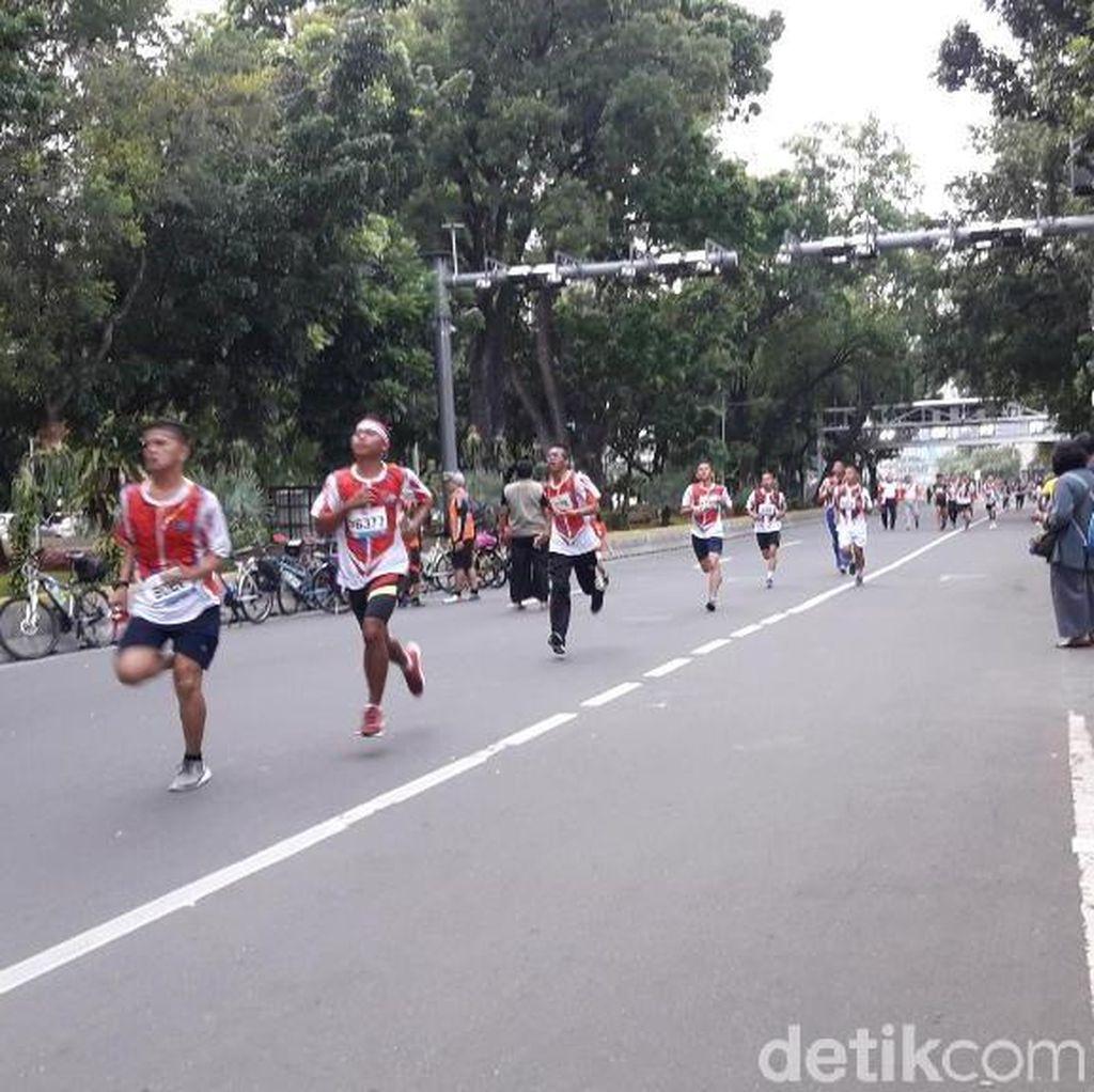 Menhan Buka Bela Negara Run 2018, 3000 Peserta Terlibat