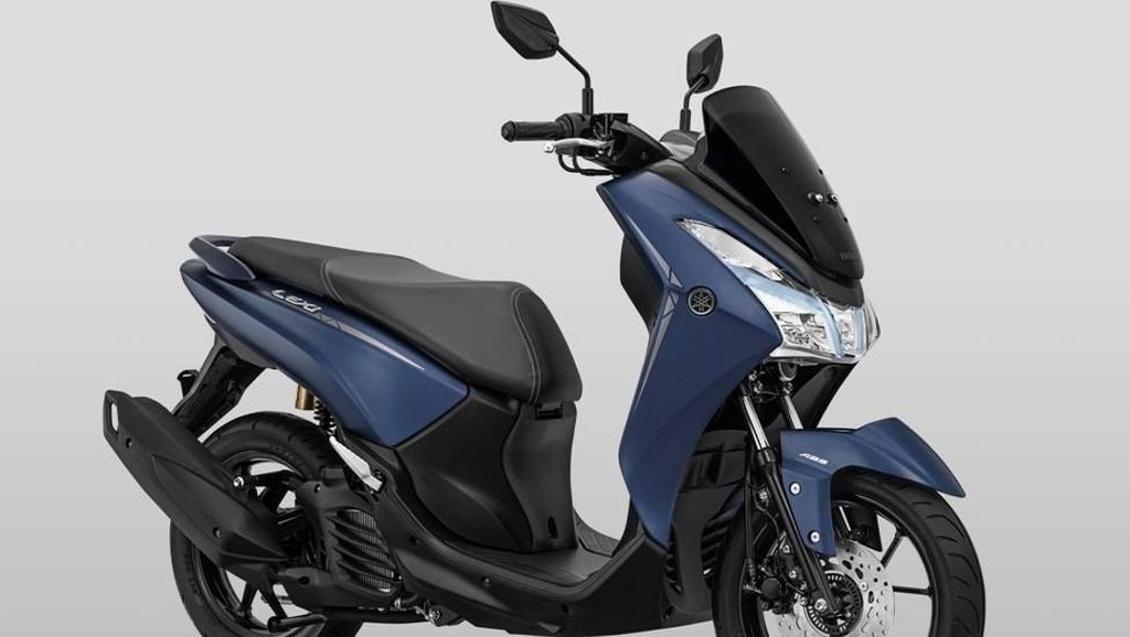Makin Aman Aja! Yamaha Lexi Baru Sudah Ada Fitur ABS