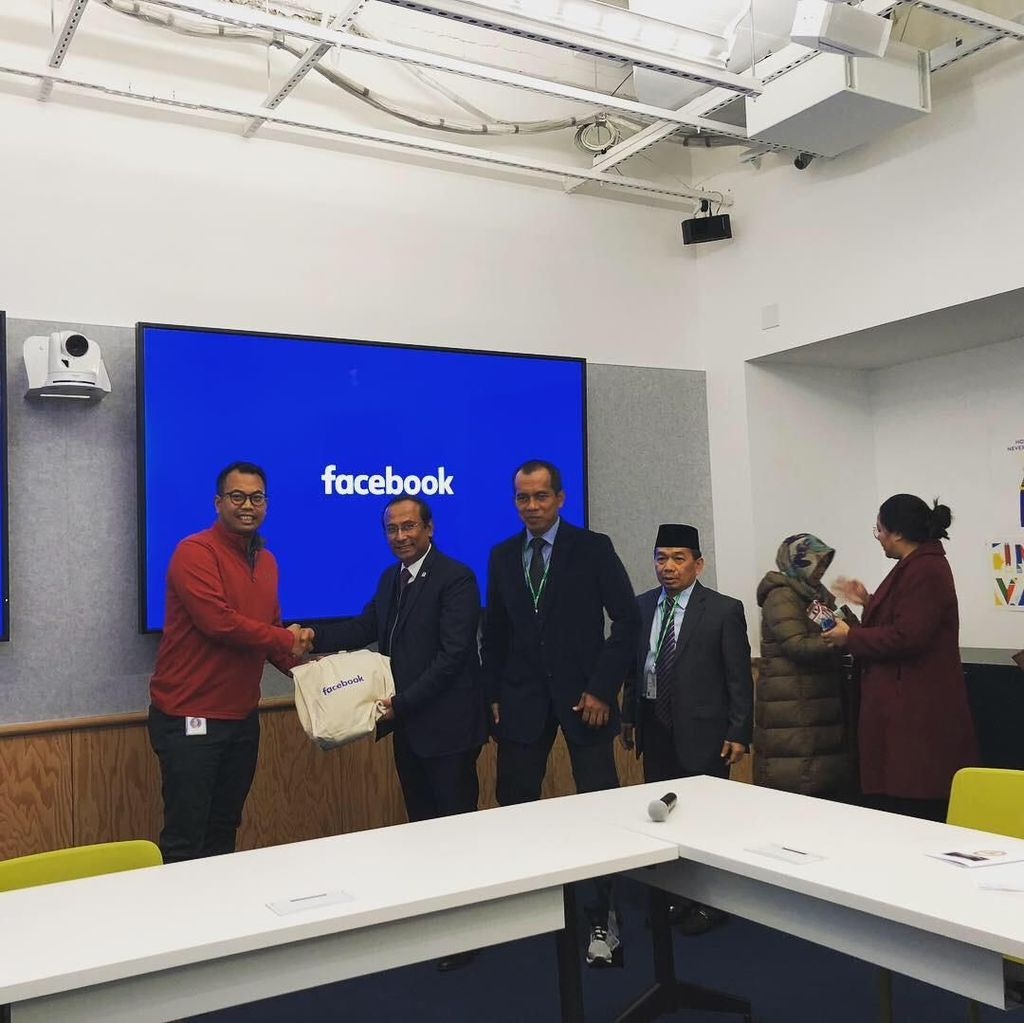 Komisi I DPR Kunjungi Kantor Facebook Bahas Hoax-Ujaran Kebencian