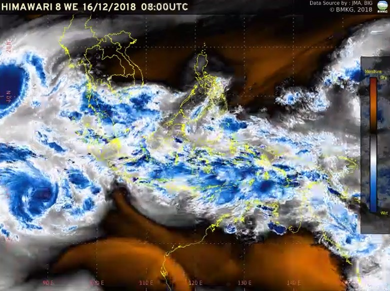 Ada Siklon Tropis Kenanga, BMKG Minta Warga Waspada Angin Kencang