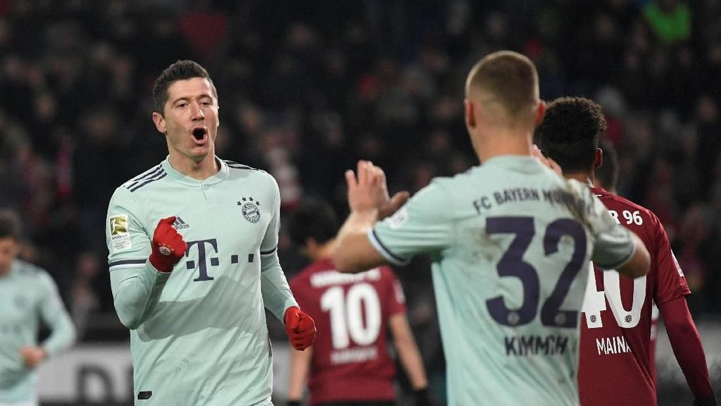 Hasil Liga Jerman: Bayern Munich Hantam Hannover 4-0