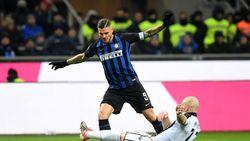 Hasil Liga Italia: Panenka Icardi Bawa Inter Taklukkan Udinese 1-0