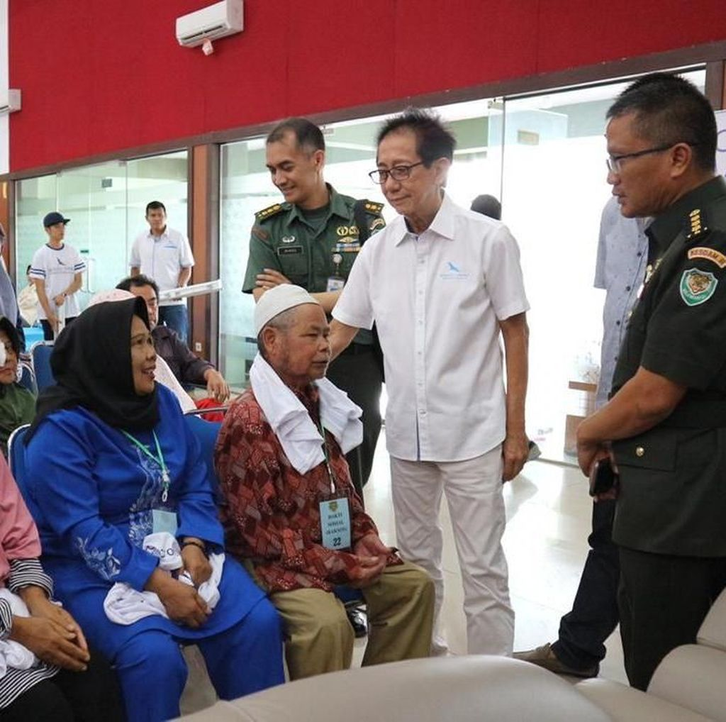 70 Penderita Katarak di Cimahi Dapat Operasi Gratis