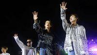 Gempa Terjadi saat Super Junior Manggung di Konser SMTOWN Chili