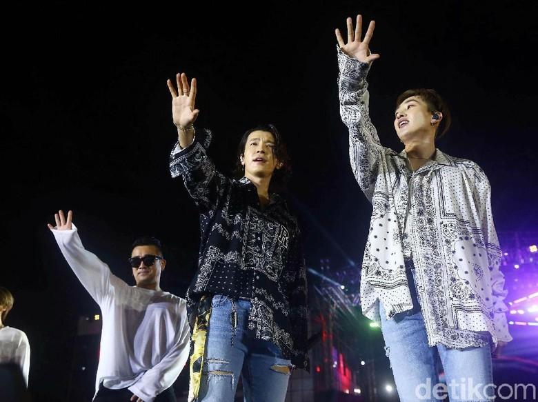Foto: Super Junior D&E (Grandyos Zafna/detikFoto)