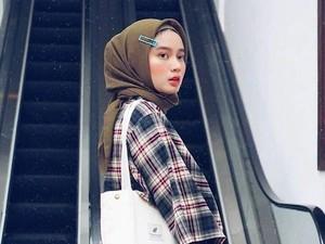 Foto: Uniknya Gaya Hijab Pakai Jepit Rambut Ala Hijabers Bandung