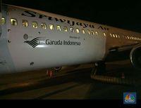Pesawat Sriwijaya Kini Berlogo Garuda Indonesia