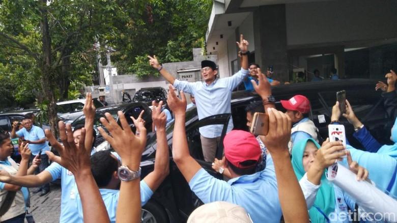 Dikode Walkot Rudy Soal Tempe, Sandi: Makin Mantap Akan Sering ke Solo