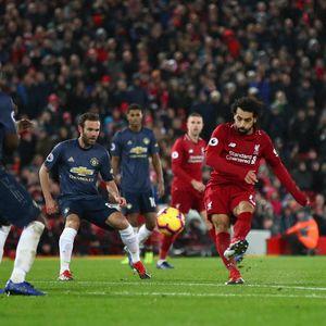Mo Salah Mencari Gol Perdana ke Gawang Setan Merah