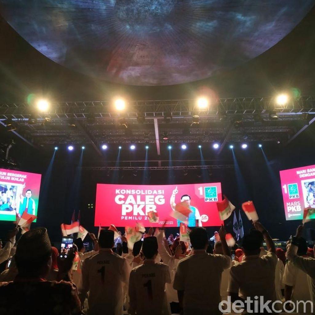 Jokowi Hadiri Konsolidasi Caleg PKB dan Haul Gus Dur