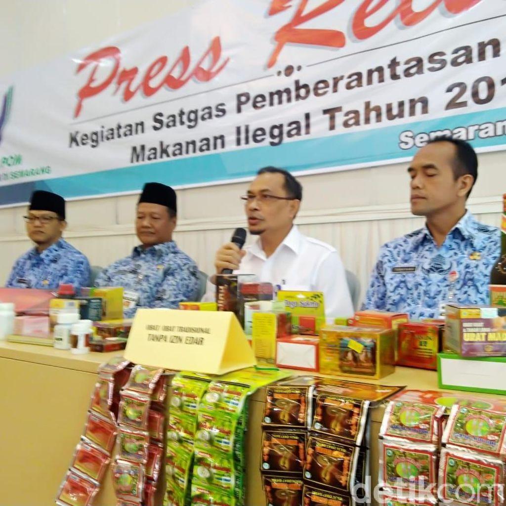 BPOM Sita Obat dan Kosmetik Ilegal Rp 750 Juta dari Jepara dan Solo