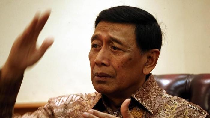 Menko Polhukam Wiranto (Foto: Rengga S/detikcom)
