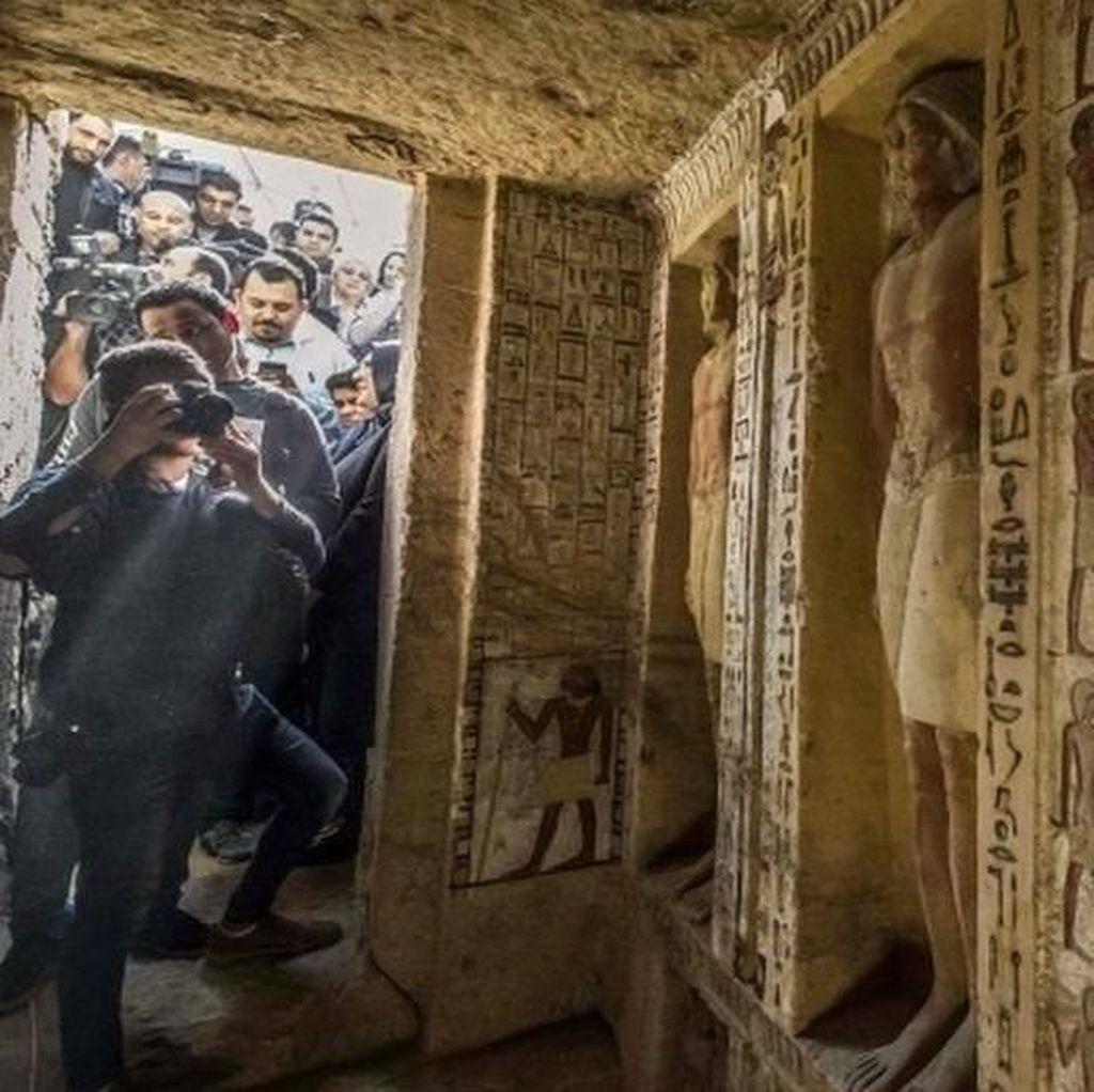 Makam Imam Besar Tak Tersentuh 4.400 Tahun Ditemukan di Mesir