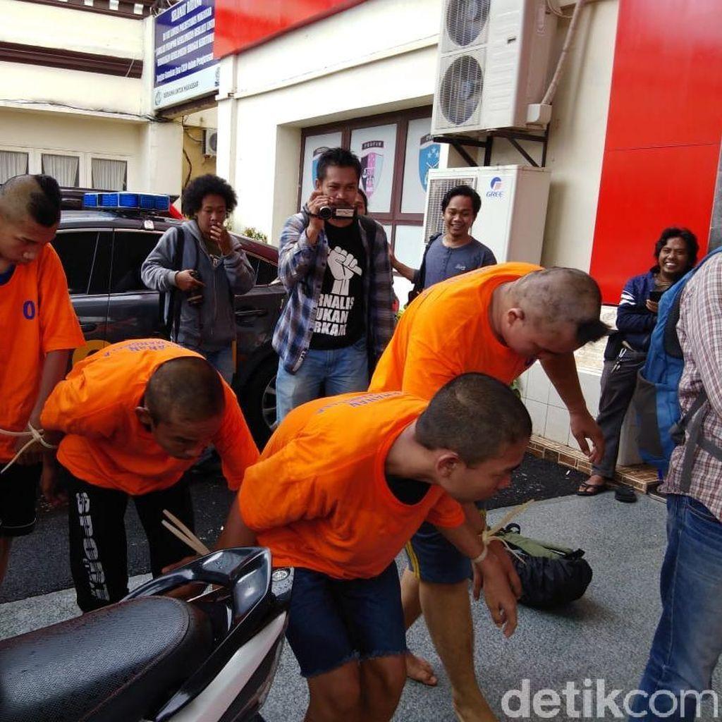 Komplotan Begal Sadis Mappaoddang di Makassar Dibekuk