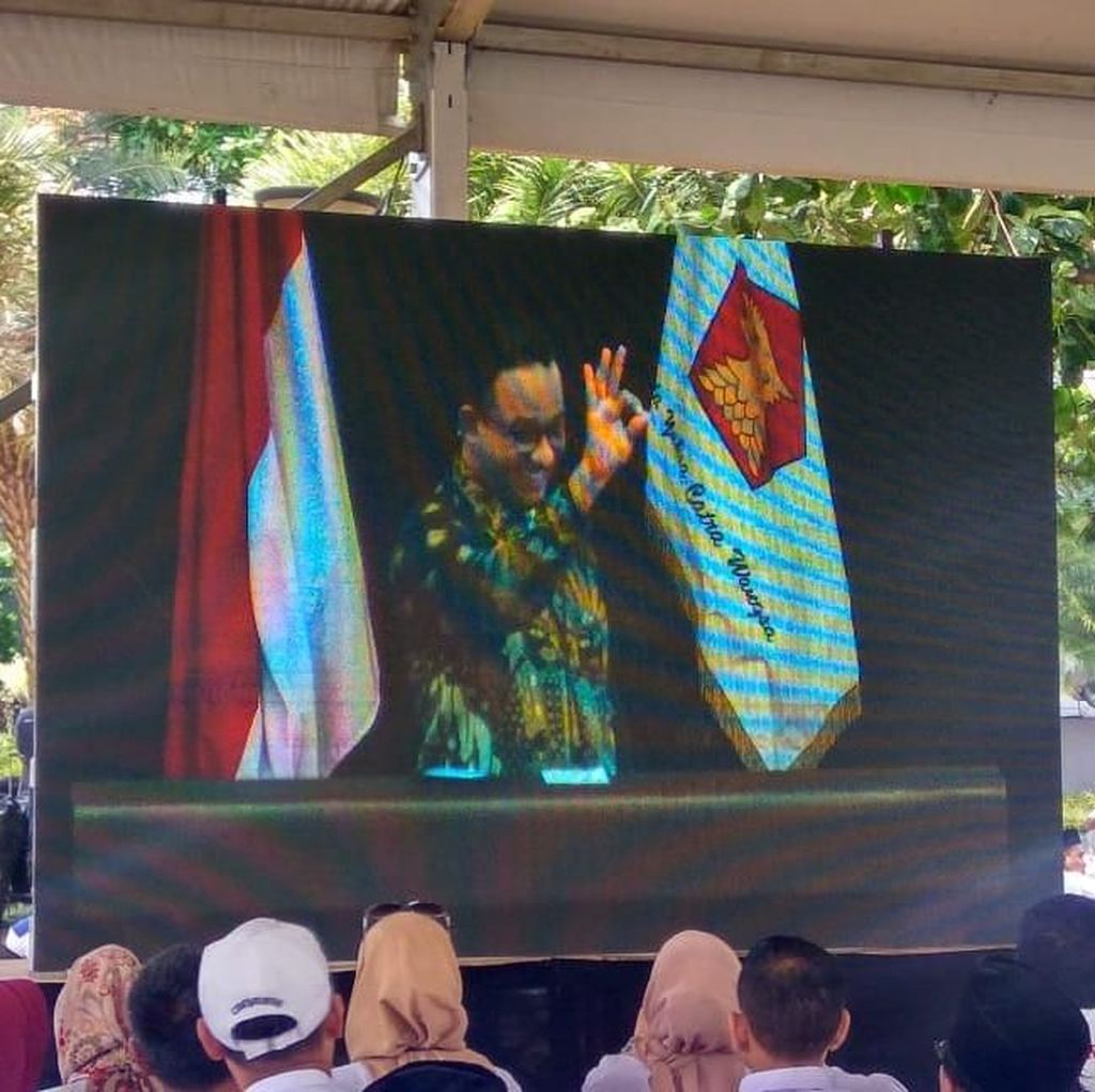Doa di Depan Prabowo, Anies: Semoga Sukses DKI Terulang di Level Nasional