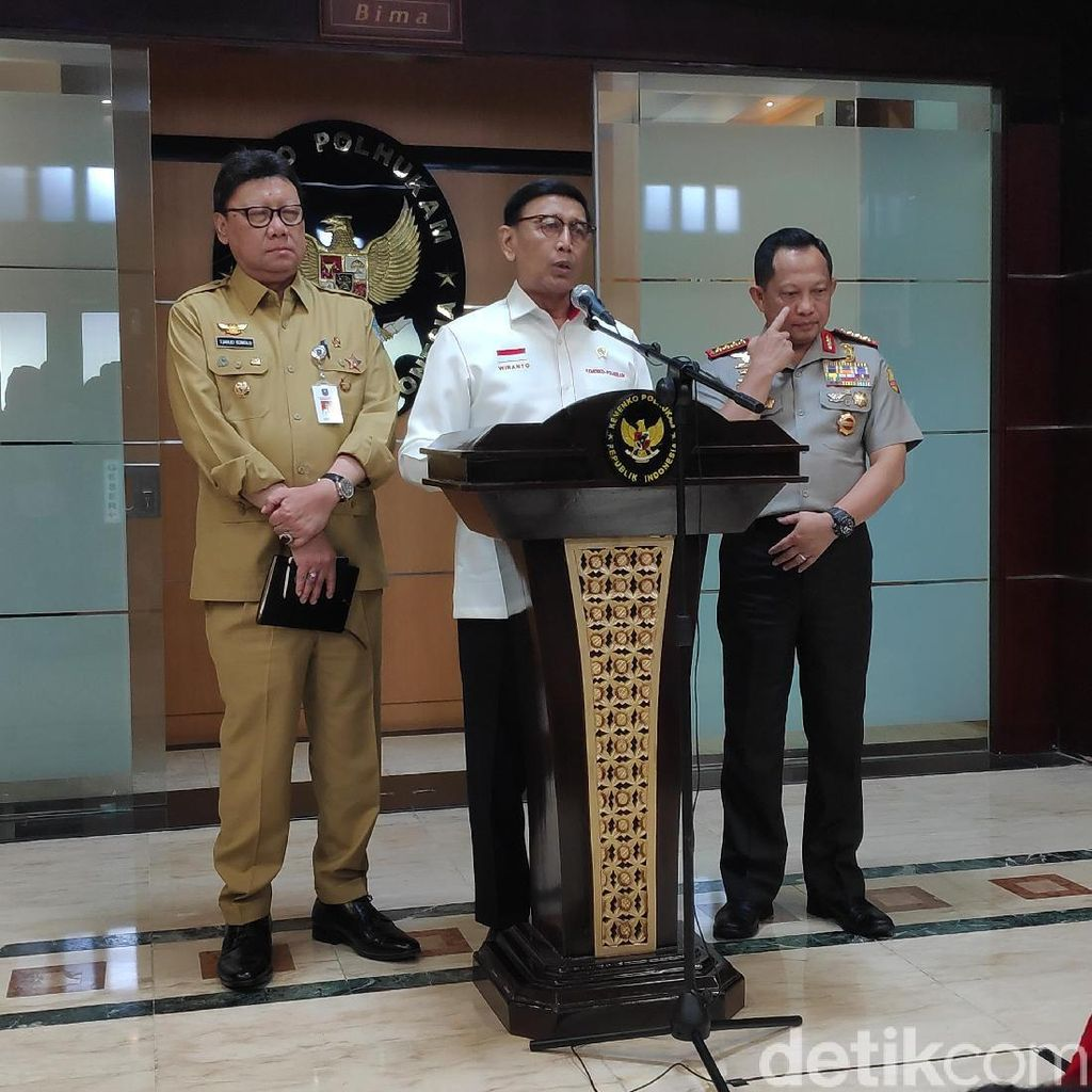 Wiranto Minta Kasus Perusakan Atribut PD Tak Dibesar-besarkan
