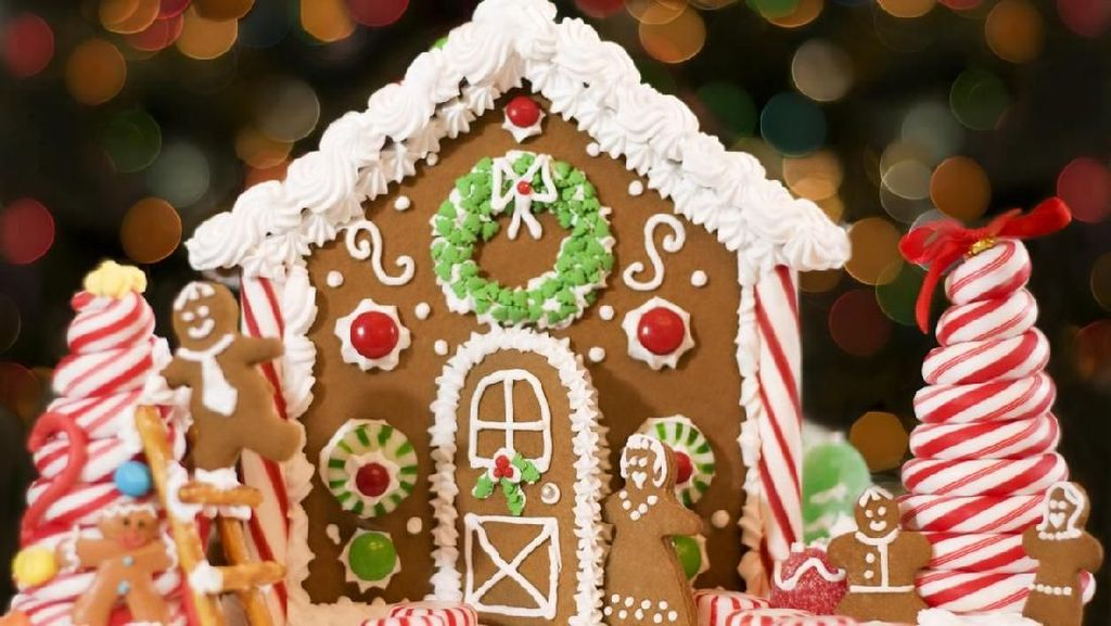 Asyik dan Praktis! Bikin Gingerbread House dengan Tips Mudah Ini