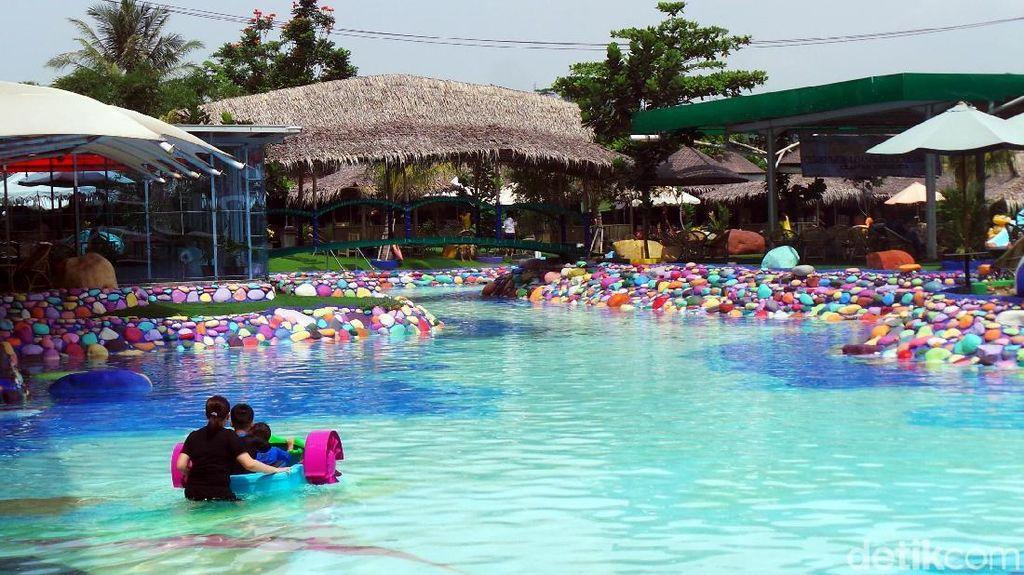 Sambut New Normal, Pengunjung Wisata Cikao Park Dibatasi