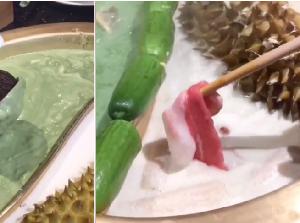 Bukan Kaldu, Hot Pot Ini Kuahnya Matcha dan Durian