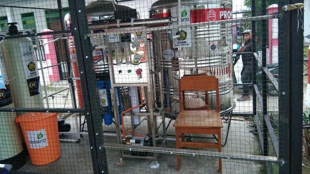 Kebutuhan Air Krusial, 17 Pengolah Air Siap Minum Dipasang di Sulteng