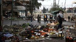 Video: Bom Mobil Meledak di Pasar Suriah, 9 Orang Tewas