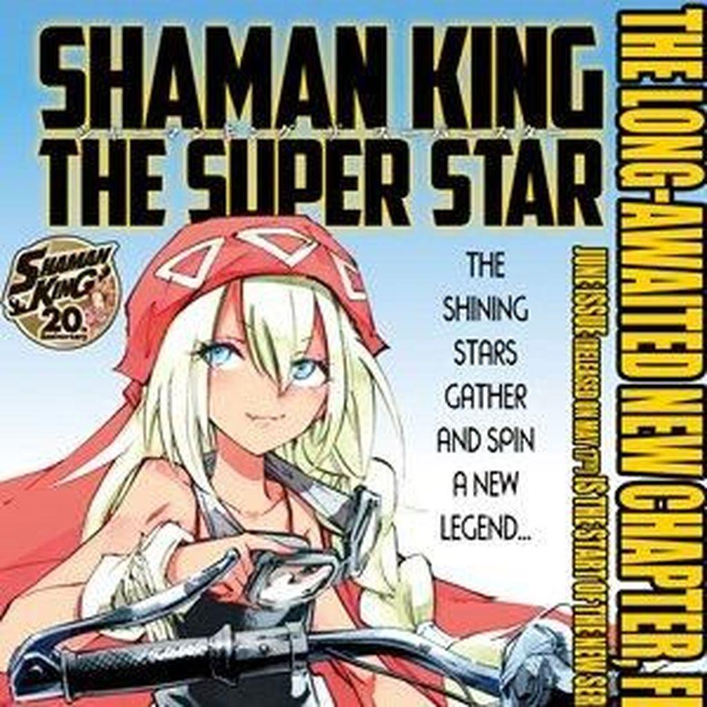 Manga Shaman King Hiatus 3 Bulan