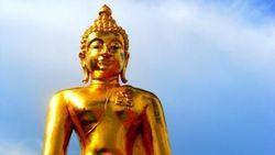 Uniknya Patung Buddha di Golden Triangle