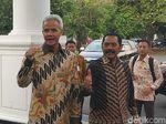 Bertemu Jokowi, Ganjar dan Rudy Sempat Ngobrol Pilpres di Jateng
