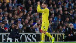 Eden Hazard Menuju 100 Gol di Chelsea, Juga Saingi Messi
