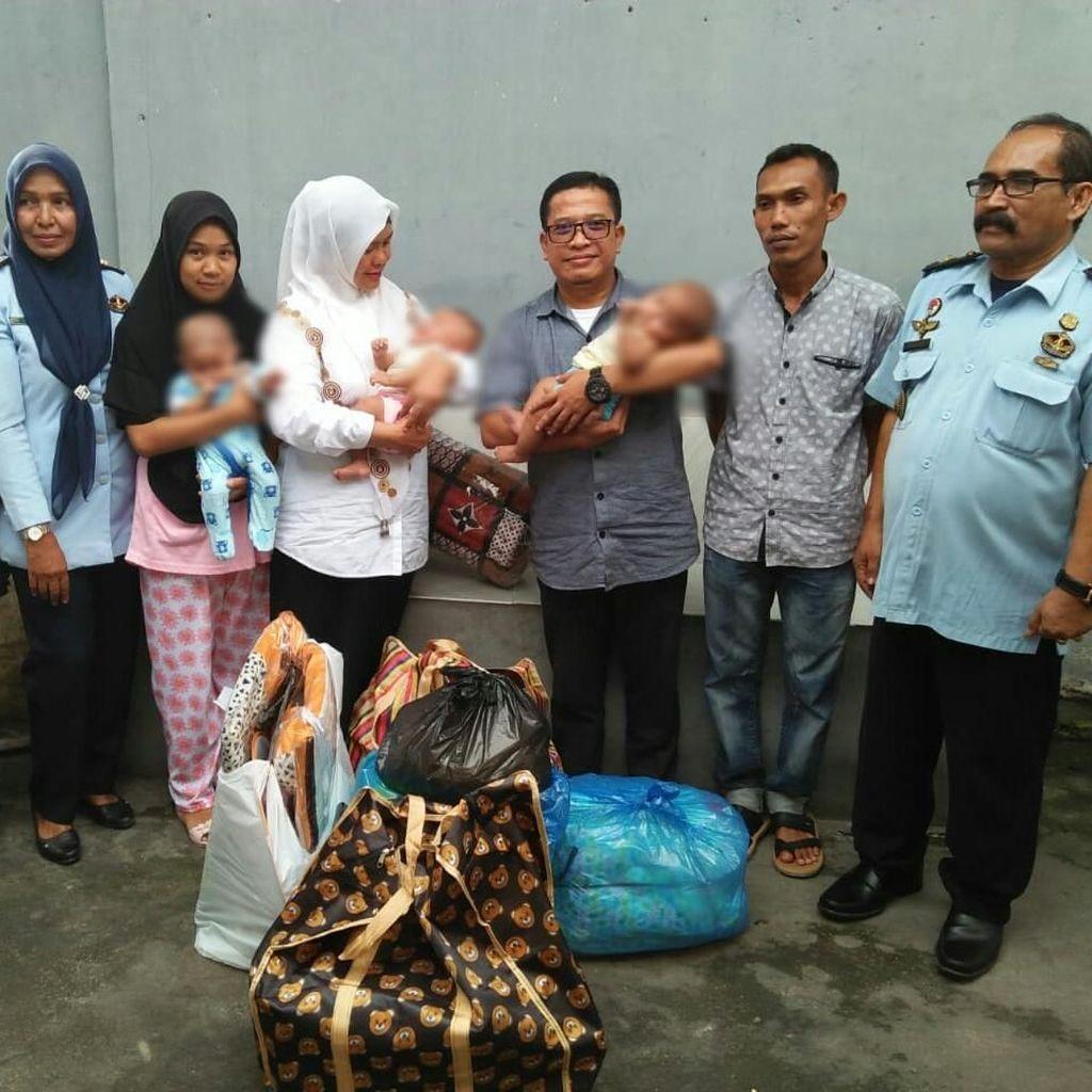 Ibu yang Bawa 3 Bayi Kembar ke Tahanan Dihukum 4 Bulan Penjara