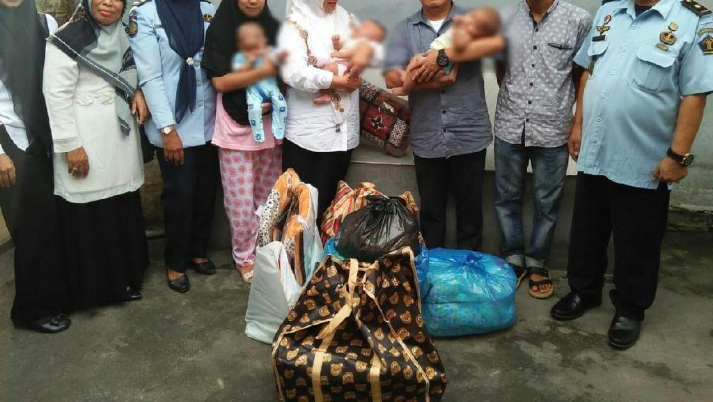 Cerita 3 Bayi Kembar di Aceh Ikut Huni Rutan Bireuen