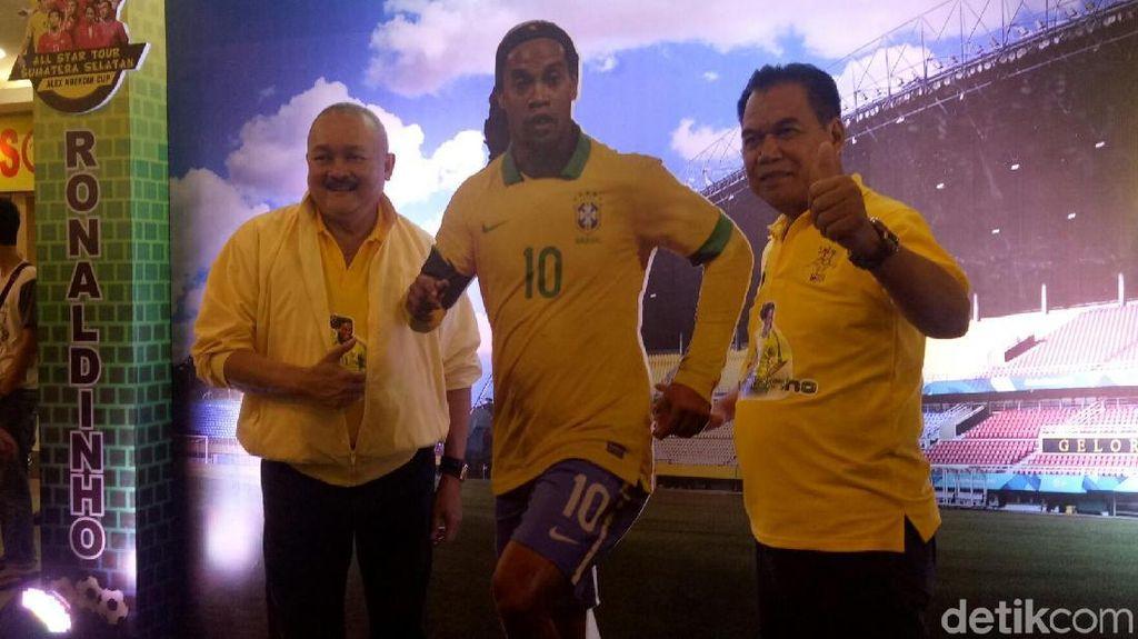Ronaldinho Merumput di Jakabaring pada Maret 2019, Messi Kemudian?
